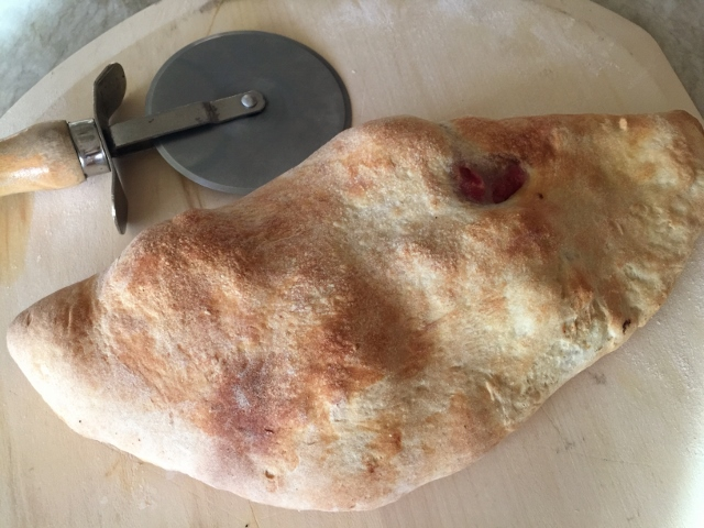Meatball & Peppers Calzone – Recipe! Image 12