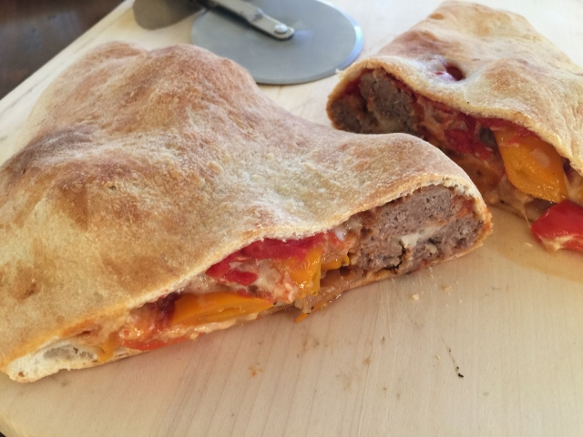 Meatball & Peppers Calzone – Recipe! Image 2