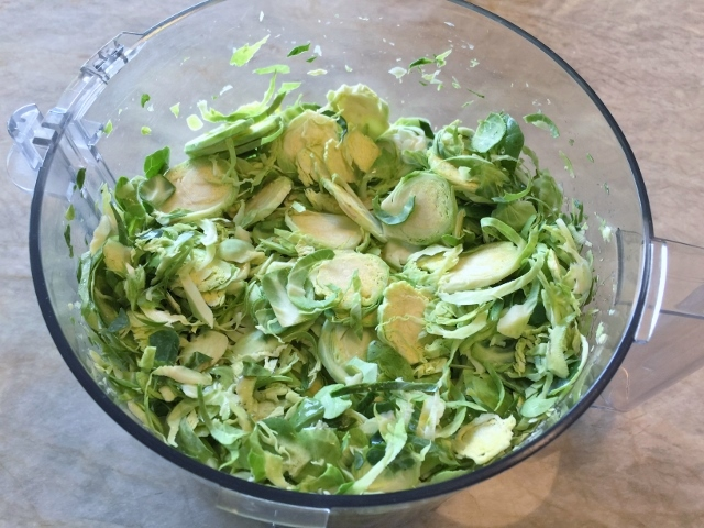 Shaved Brussels Sprout & Kale Salad with Pecorino – Recipe! Image 3