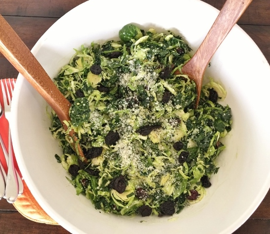 Shaved Brussels Sprout & Kale Salad with Pecorino – Recipe! Image 1