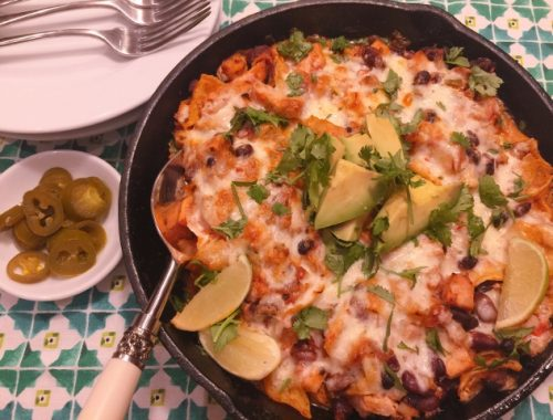 Turkey Enchilada Skillet – Recipe!