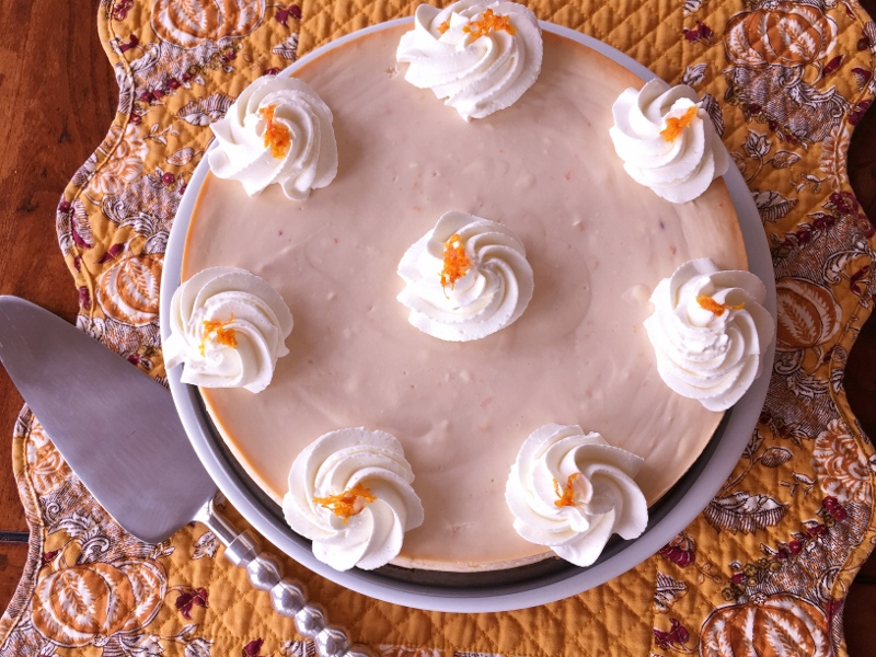 Blood Orange Ricotta Cheesecake – Recipe! Image 1