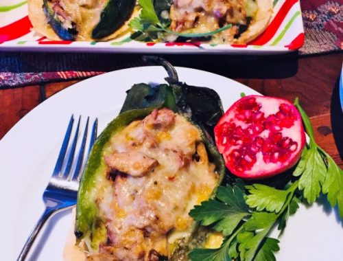 Carnitas Stuffed Poblanos – Recipe!