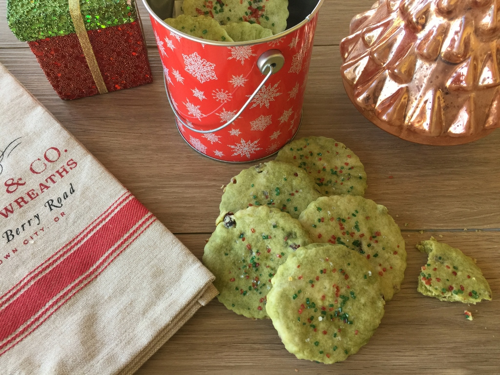 Marbled Matcha & Cranberry Shortbread Cookies – Recipe! Image 2