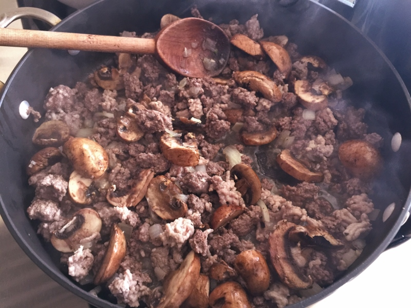 Mushroom Meat Sauce – Recipe! Image 3