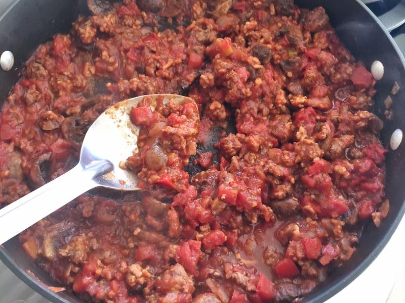 Mushroom Meat Sauce – Recipe! Image 6