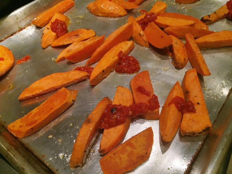 Roasted Harissa Sweet Potatoes – Recipe! Image 5