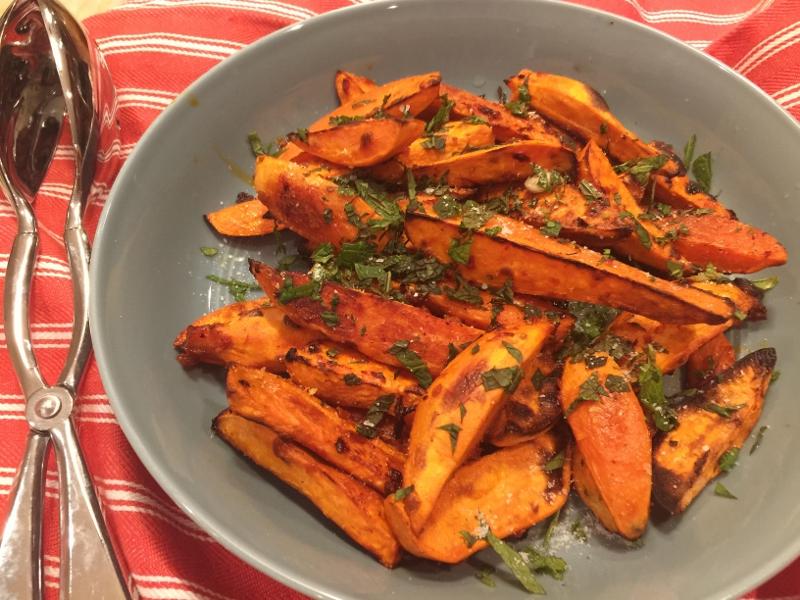 Roasted Harissa Sweet Potatoes – Recipe! Image 2