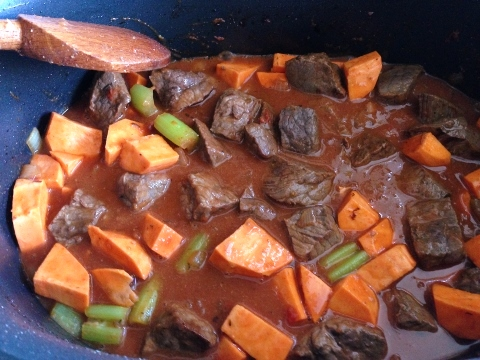 Slow-Cooker Sweet Potato & Beef Stew – Recipe! Image 5