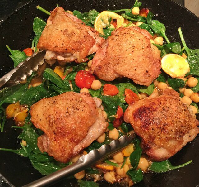 Great chicken doesnt have to be complicated!! Try this Skillethellip