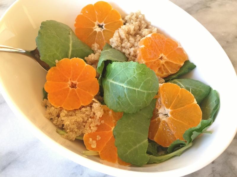 Baby Kale, Quinoa & Tangerine Salad – Recipe! Image 1