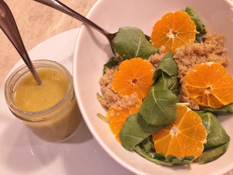 Baby Kale, Quinoa & Tangerine Salad – Recipe! Image 3