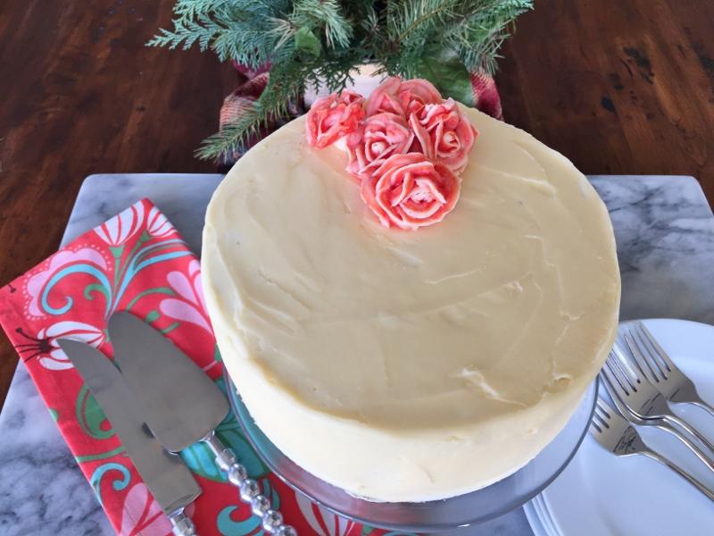 Chocolate Cake with Swiss Vanilla Buttercream – Recipe! Image 2
