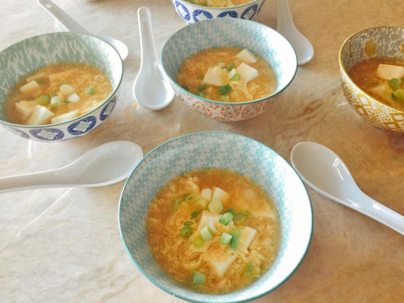 Egg Drop Soup with Soft Tofu – Recipe! Image 2