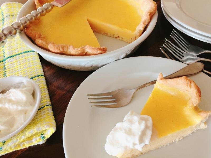 Frozen Vanilla Rum Pie – Recipe! Image 1