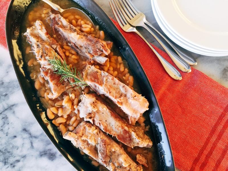 Instant Pot Rosemary Pork & Beans – Recipe! Image 2