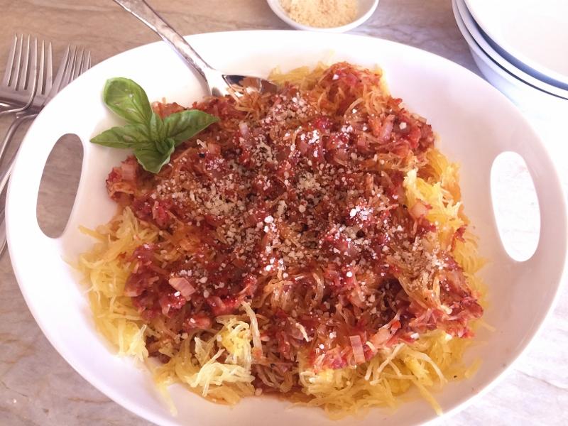 Spaghetti Squash Arrabbiata – Recipe! Image 2