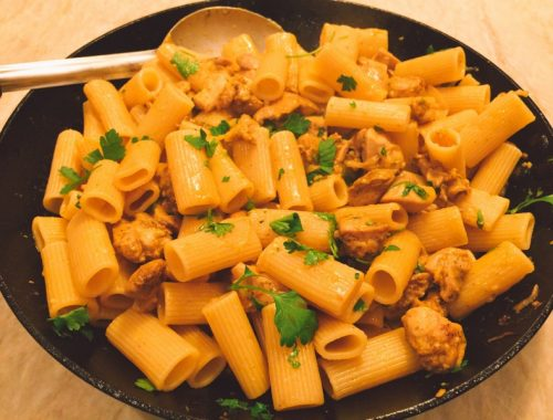 Chicken Shawarma Rigatoni – Recipe!