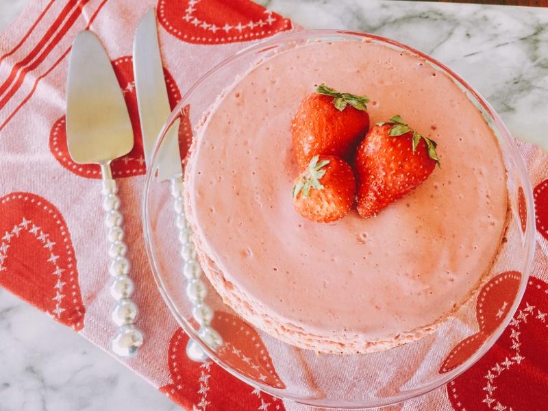Instant Pot Strawberry Cheesecake – Recipe! Image 2