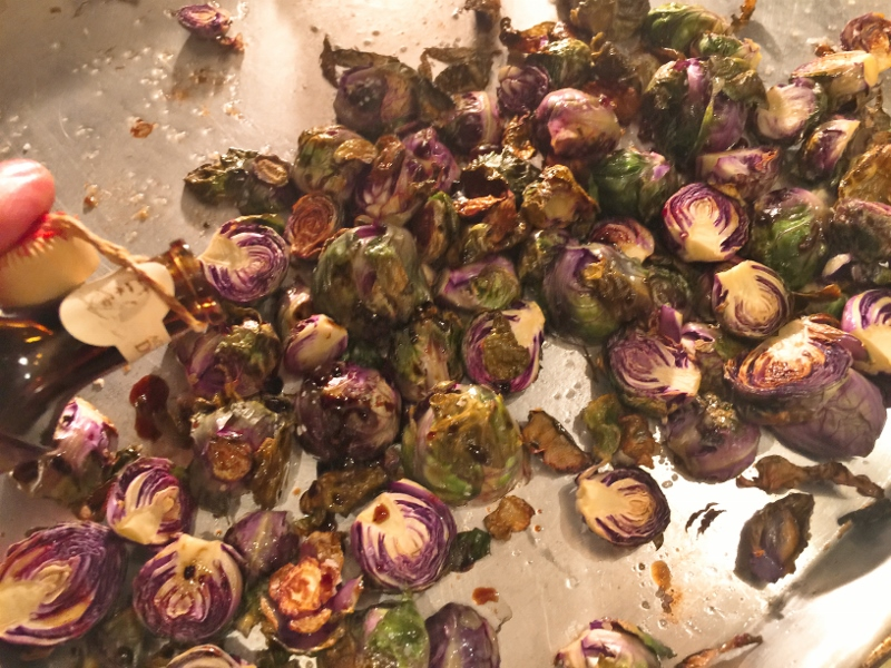 Roasted Balsamic Brussels Sprouts – Recipe! Image 4
