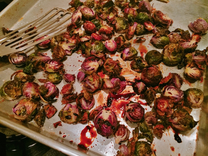 Roasted Balsamic Brussels Sprouts – Recipe! Image 2