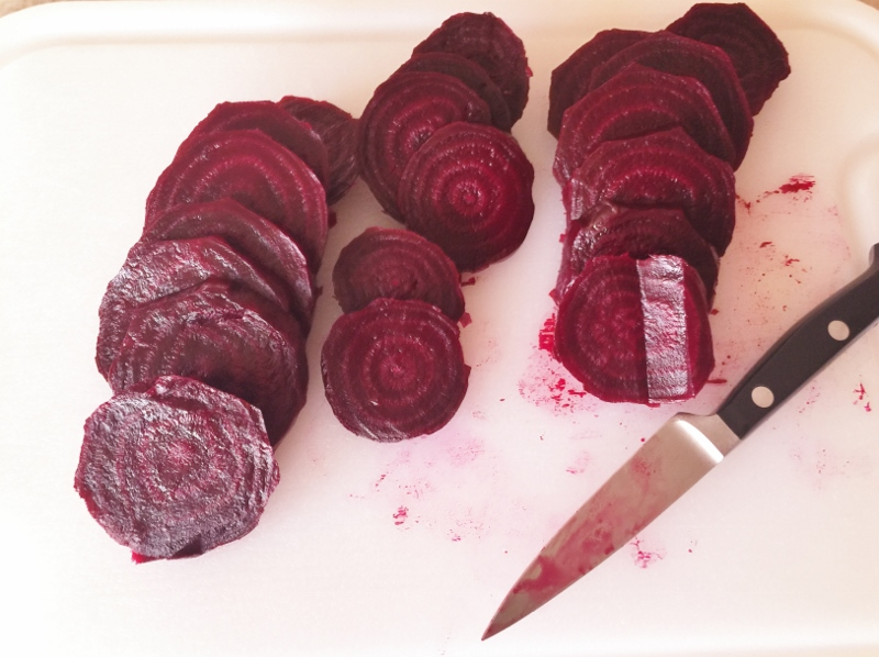 Roasted Beet Sweetheart Salad with Feta Cream – Recipe! Image 4