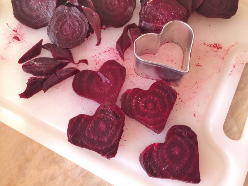 Roasted Beet Sweetheart Salad with Feta Cream – Recipe! Image 5