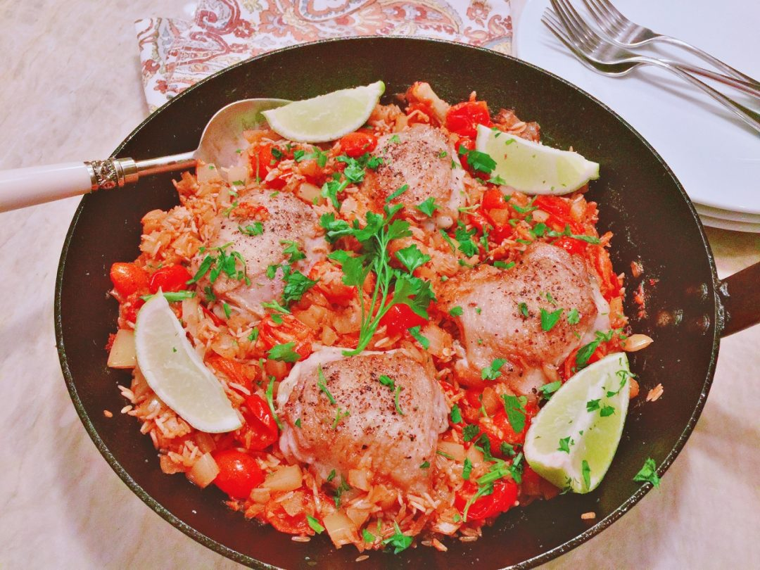 Skillet Arroz Con Pollo – Recipe! Image 1