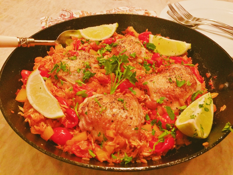 Skillet Arroz Con Pollo – Recipe! Image 2