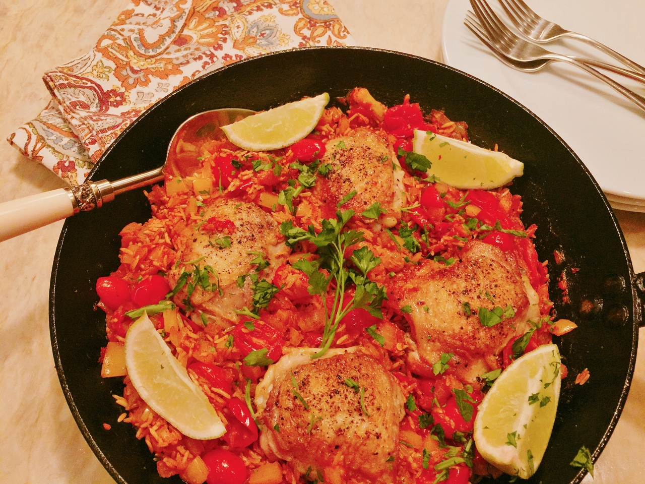 Skillet Arroz Con Pollo – Recipe! Image 5