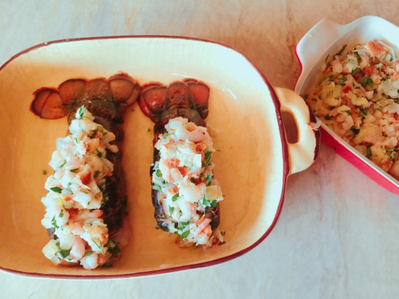 Stuffed Lobster Tails – Recipe! Image 9