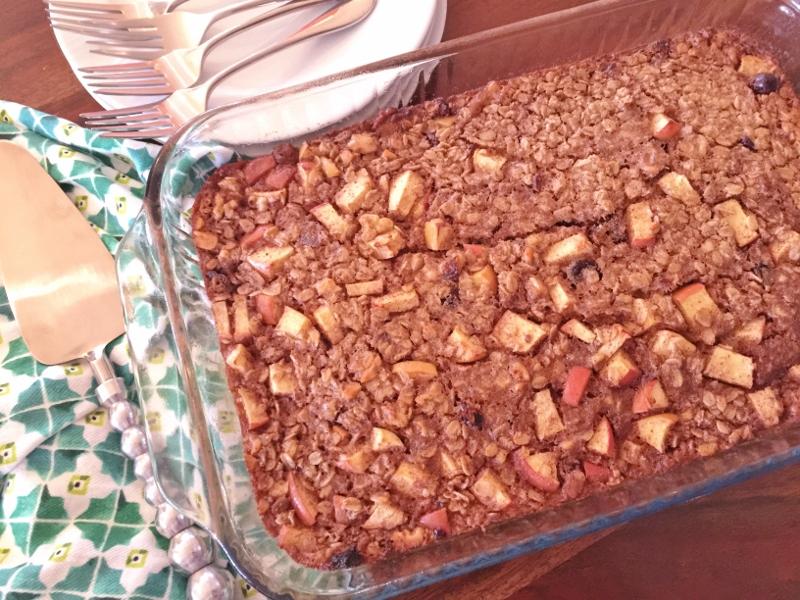 Apple Cinnamon Baked Oatmeal – Recipe! Image 2