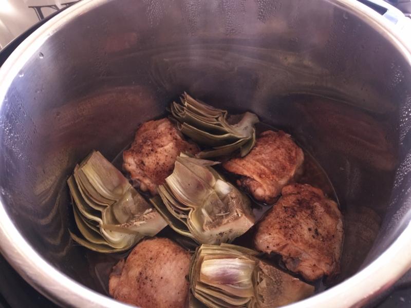 Instant Pot Vinegar Chicken & Artichokes – Recipe! Image 8