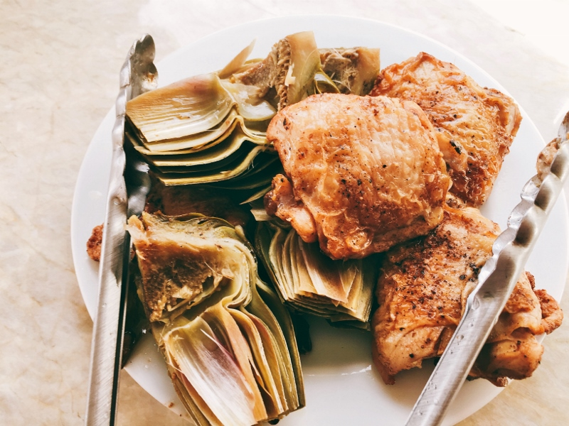Instant Pot Vinegar Chicken & Artichokes – Recipe! Image 9