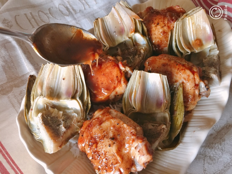Instant Pot Vinegar Chicken & Artichokes – Recipe! Image 11