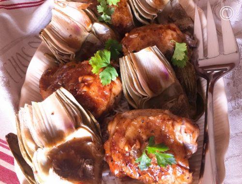Instant Pot Vinegar Chicken & Artichokes – Recipe!