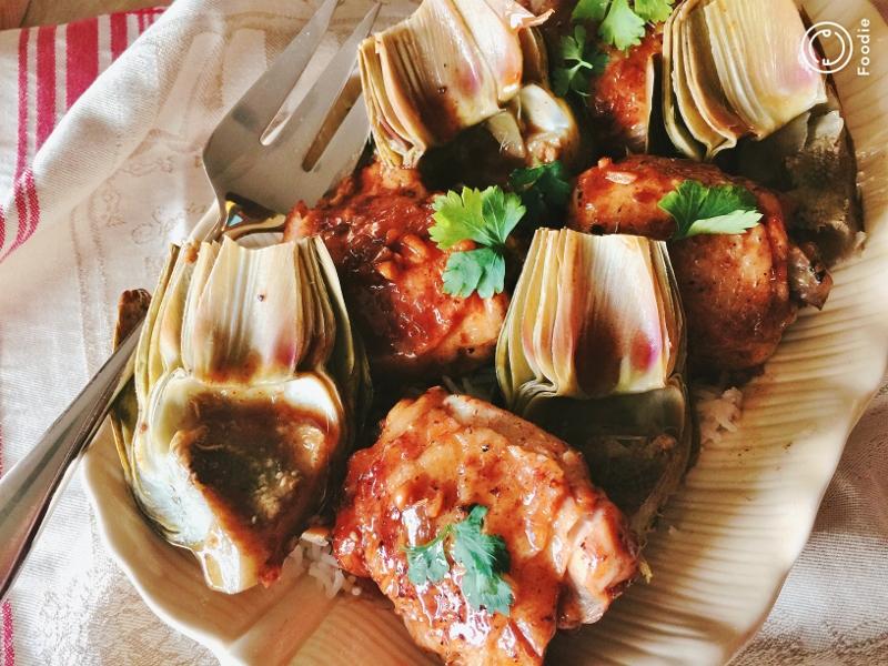Instant Pot Vinegar Chicken & Artichokes – Recipe! Image 2