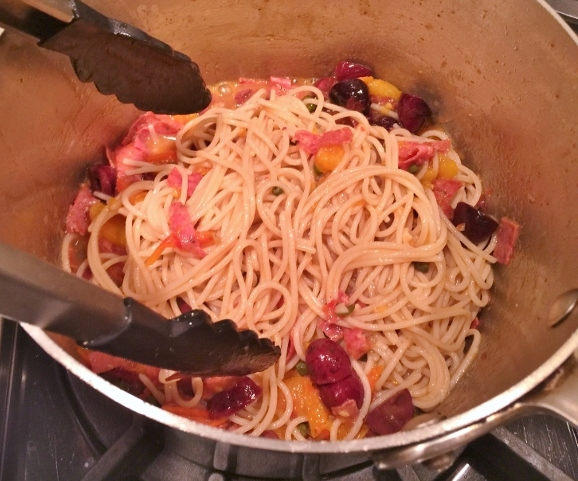 Pasta Puttanesca with Salami – Recipe! Image 5