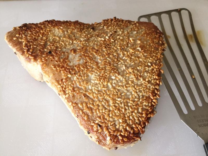 Sesame Tuna with Ginger Ponzu Sauce – Recipe! Image 5