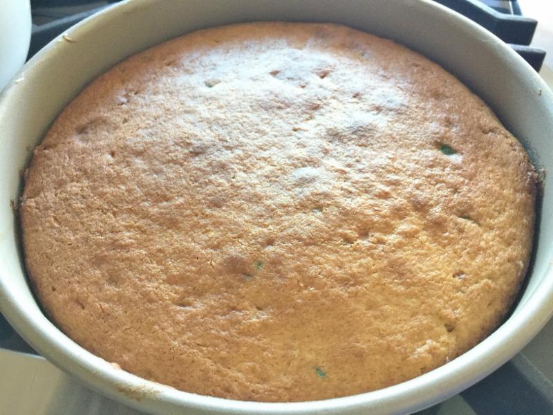 Speckled Egg Vanilla Cream Cake – Recipe! Image 8