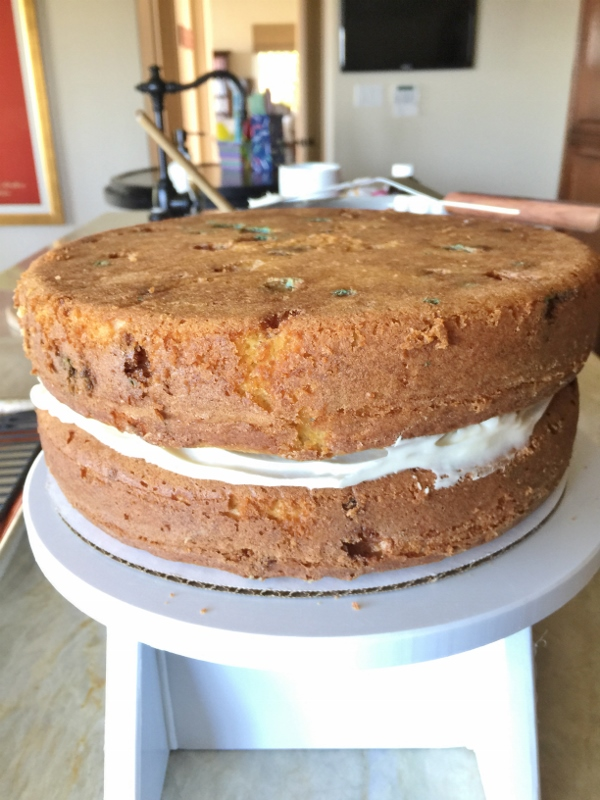Speckled Egg Vanilla Cream Cake – Recipe! Image 11
