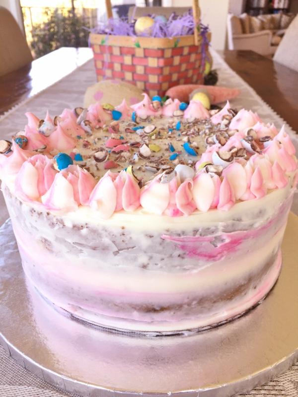 Speckled Egg Vanilla Cream Cake – Recipe! Image 2