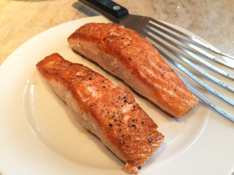 Wok Caramel Salmon with Bitter Greens – Recipe! Image 4