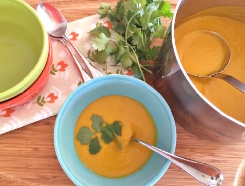Carrot Coconut Curry Soup – Recipe!