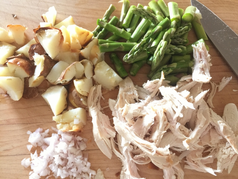 Chicken, Asparagus & Potato Hash – Recipe! Image 3