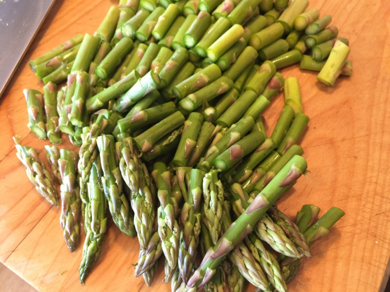 Crispy Tofu, Shiitakes & Asparagus Stir Fry – Recipe! Image 4