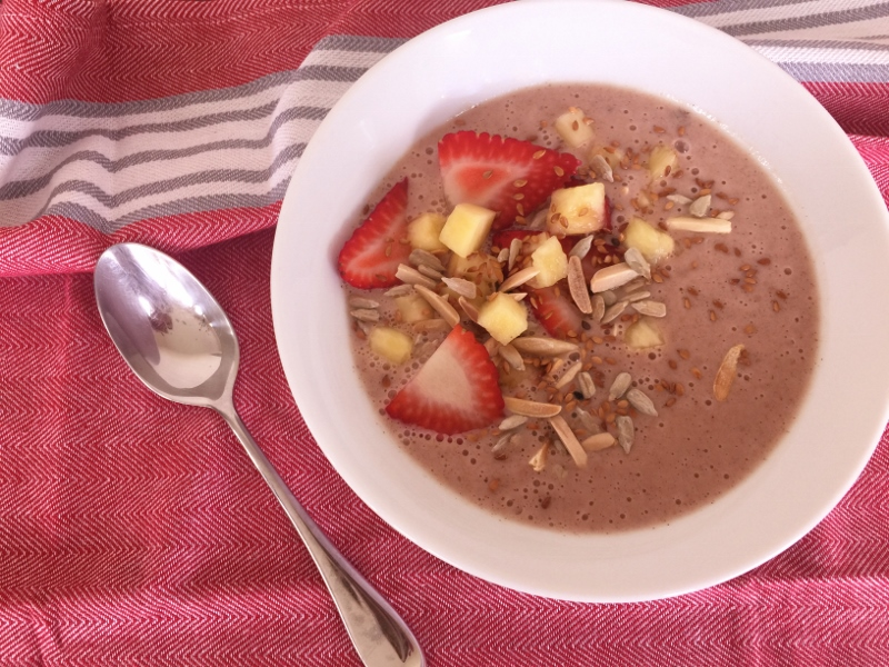 Pineapple-Strawberry Smoothie Bowls – Recipe! Image 2