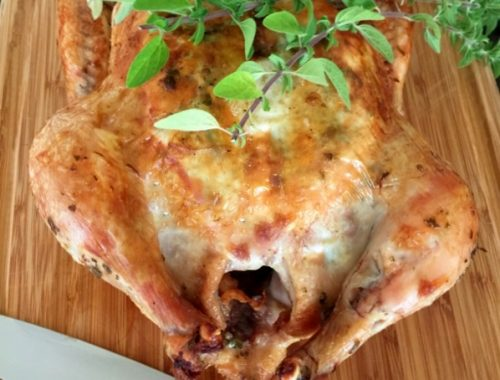 Roast Oregano Chicken – Recipe!