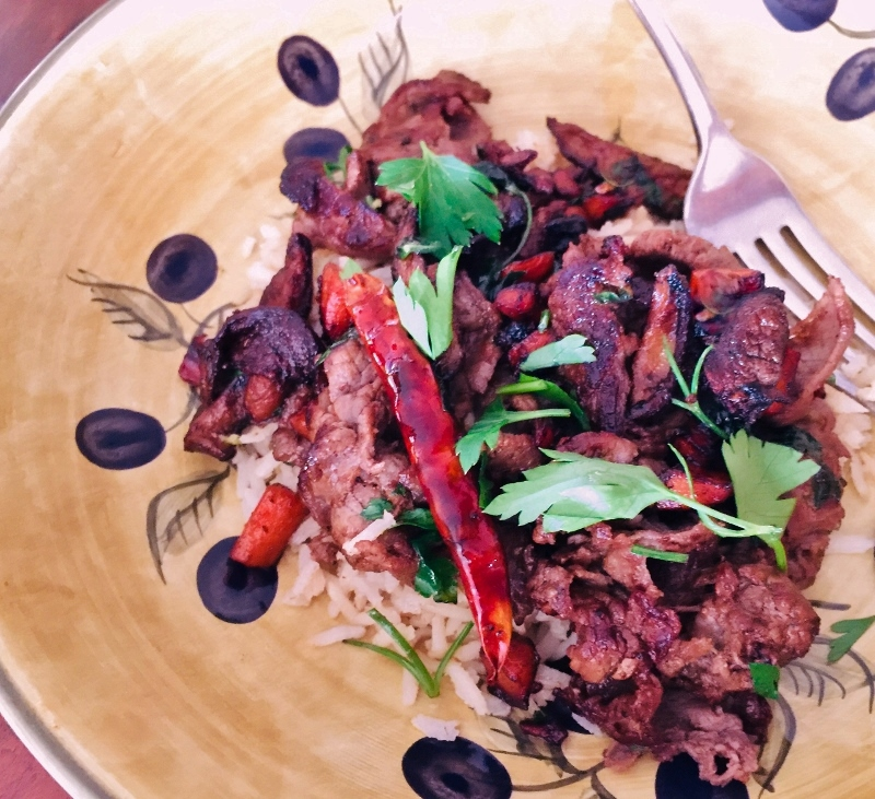 Crispy Beef & Mushrooms – Recipe! Image 1