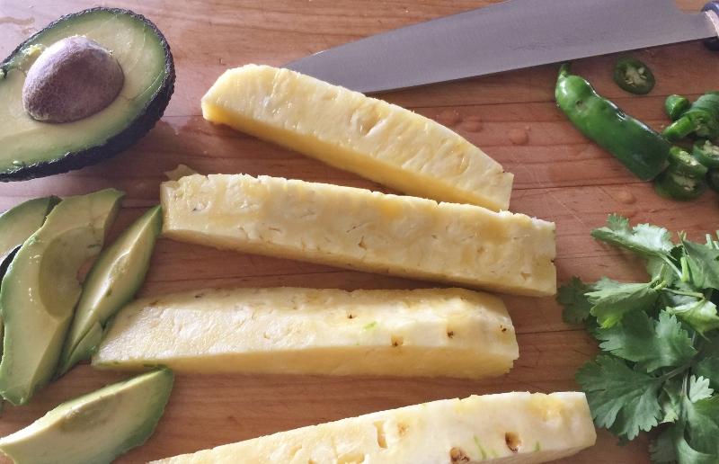 Grilled Shrimp & Pineapple Wrap – Recipe! Image 3
